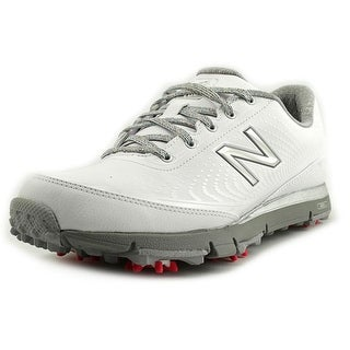 New Balance NBGW Round Toe Leather Golf Shoe