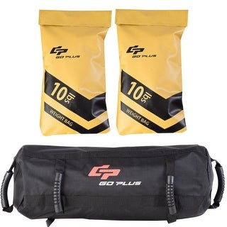 Goplus 20lbs Body Press Durable Fitness Exercise Weighted Sandbags w Filler Bags