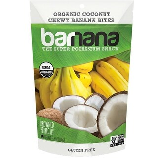 Barnana - Organic Chewy Coconut Banana Bites ( 12 - 3.5 oz bags)