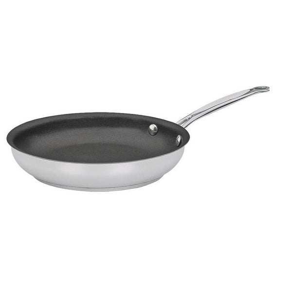 Cuisinart 722-24NS Chef's Classic Open Skillet, Stainless Steel, 10""