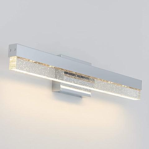 Artika Essence Bubble Bar Vanity Light Fixture, Chrome