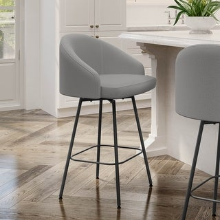Link to Amisco Nelly Swivel Counter and Bar Stool Similar Items in Dining Room & Bar Furniture