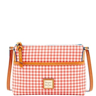Dooney & Bourke Small Gingham Ginger Crossbody (Introduced by Dooney & Bourke at $128 in Jan 2016) - Red