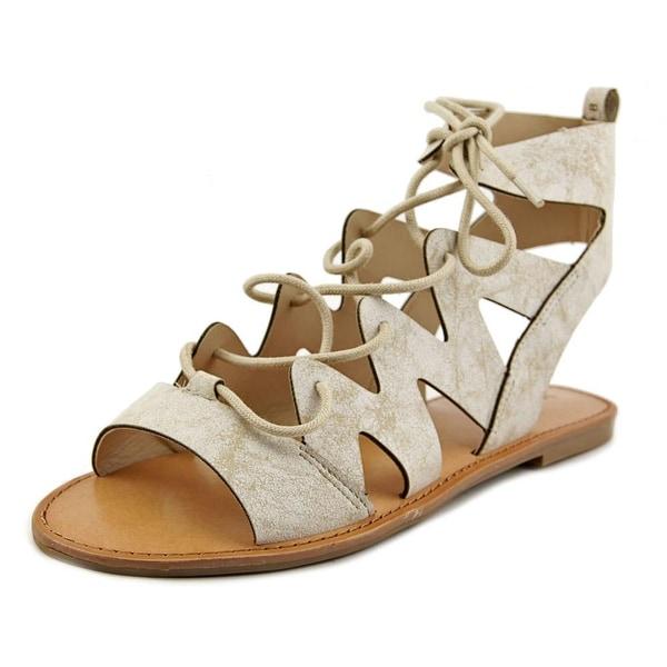 Indigo Rd. Bardot Women Open Toe Leather Gladiator Sandal