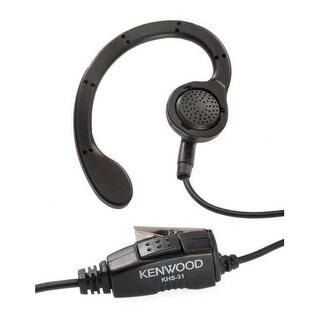 Kenwood KHS-31 Hands-Free Operation C-Ring Earpiece for Kenwood Pro Talk