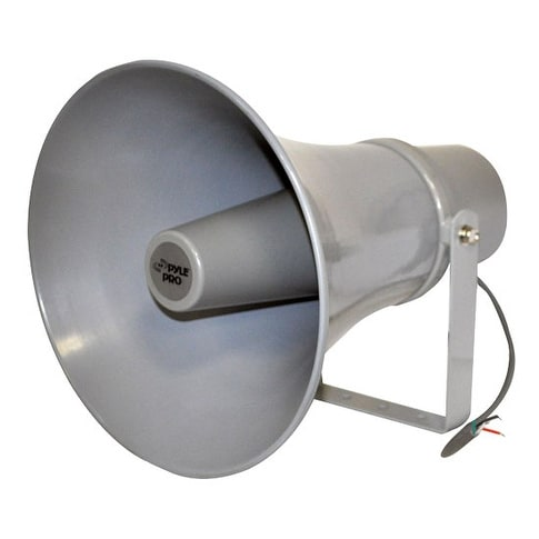 11'' Indoor / Outdoor 30 Watt PA Horn Speaker w/ 70V Transformer