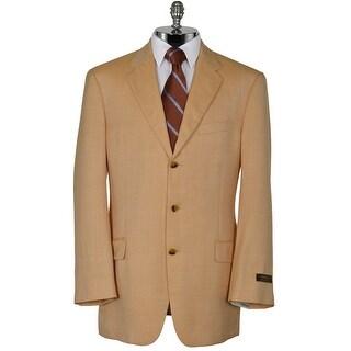 Joseph Abboud American Soft Peach Wool Blend Sportcoat 42 Long 42L Blazer