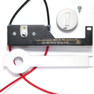 Cadet RMT2W Double Pole Field Mount Thermostat Kit for RM Series Baseboard Heate