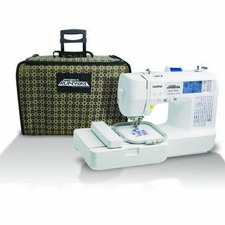 Brother Sewing Lb6800prw Computer Sew Embroidery W Bag
