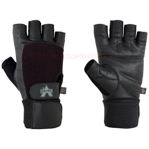 Valeo Competition Wrist Wrap Weight Lifting Gloves