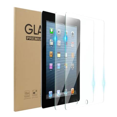 2-Pack Tempered Glass LCD Screen Protector Film Cover For Apple iPad 2/3/4