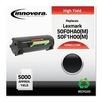 """Innovera Remanufactured 50F0HA0 (MS310M)MICR Toner, Black Remanufactured 50F0HA0 (MS310M) High-Yield MICR Toner, Black"""
