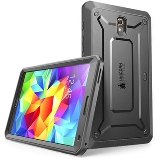 Samsung Galaxy Tab S 8.4 Case, SUPCASE, Unicorn Beetle Pro,Full Body Rugged Protective Case, Tab S 8.4-Black/Black