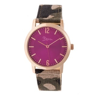 Boum Sauvage Women's Quartz Watch, Nylon Strap