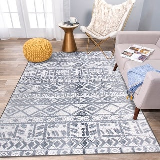 Link to Geometric Bohemian Non Skid Area Rug Similar Items in Rugs