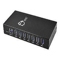 ID-US0511-S1 7 Port Industrial USB 3.0 Hub With 15Kv Esd Protection