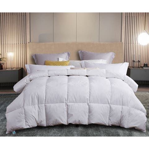 Martha Stewart White Feather and Down Comforter