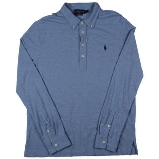 Polo Ralph Lauren Mens Polo Cotton Stretch - L