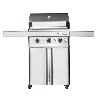 Barbeques Galore Turbo Elite 3-Burner Freestanding Gas Grill