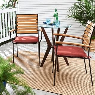 Humble + Haute Sunbrella Canvas Henna Indoor/ Outdoor Cushion, Set of 2