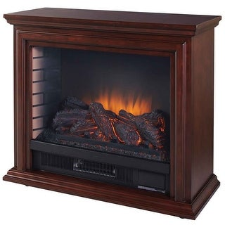 """Link to Pleasant Hearth GLF-5002 5200 BTU 32"""" Wide Vent Free Electric Mantel Similar Items in Decorative Accessories"""