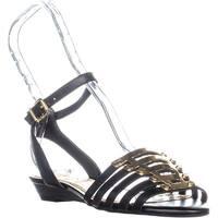 Jessica Simpson Ebelah Ankle Strap Sandals, Black - 6 us