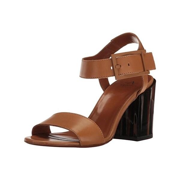 Aquatalia Womens Fredia Dress Sandals Open Toe Block Heel