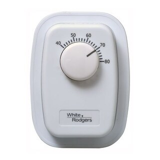 White-Rodgers 1G65-641 Line Voltage Bimetal Wall Mechanical Thermostat