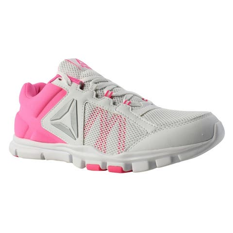 20a72fd95d3 Reebok Womens Yourflex Trainette 9 Pink Cross Training Shoes Size 9