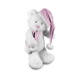 Beverly Hills Teddy Bear Company Winter Baby Bear Pink