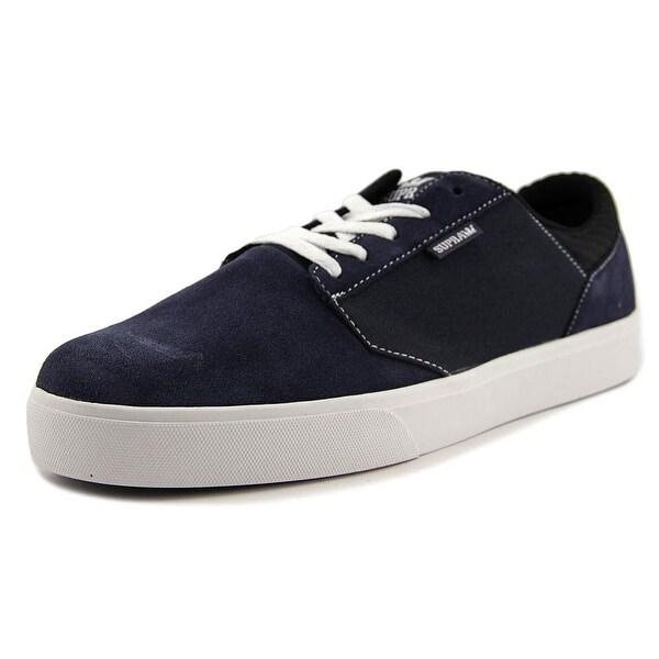 Supra Yorek Low Men Round Toe Canvas Blue Sneakers