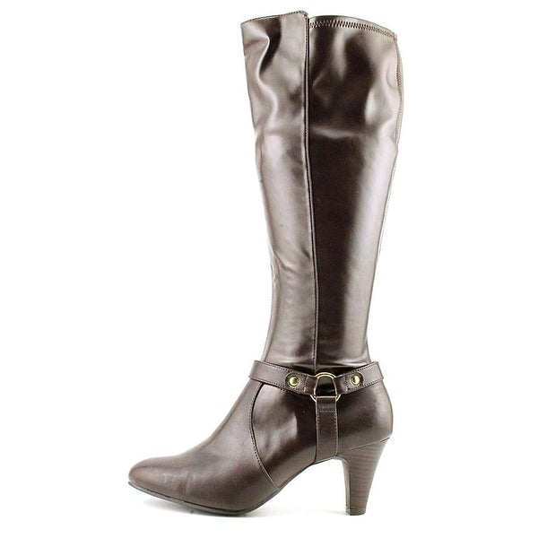 Karen Scott Womens Henson Almond Toe Mid-Calf Fashion Boots