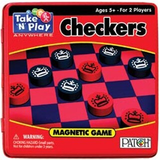Checkers - Take 'N' Play Anywhere Magnetic Game