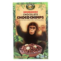 Envirokidz Organic Cereal - Choco Chimps - Case of 12 - 10 oz.