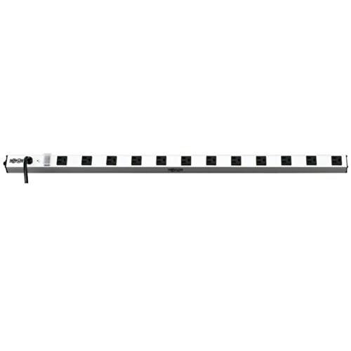 Tripp Lite 114214w Tripp Lite PS3612 Power Strip 120V 5-15R 12 Outlet 15ft Cord Vertical Metal 0URM