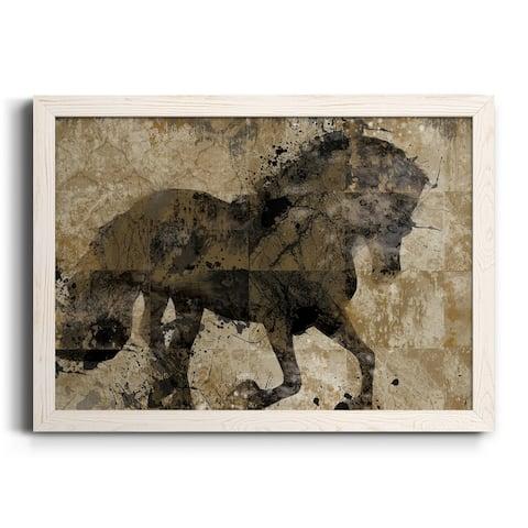 Midnight Stallion-Premium Framed Canvas - Ready to Hang