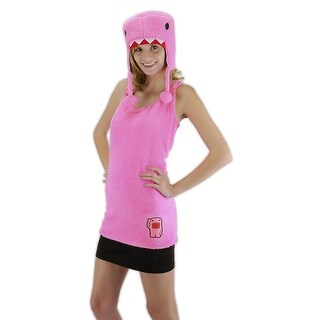 Elope Womens Domo Costume Costume Set Halloween Party - L/XL