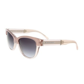 Burberry BE4206 3560/8G Clear Pink Cateye Sunglasses - clear pink - 55-17-140