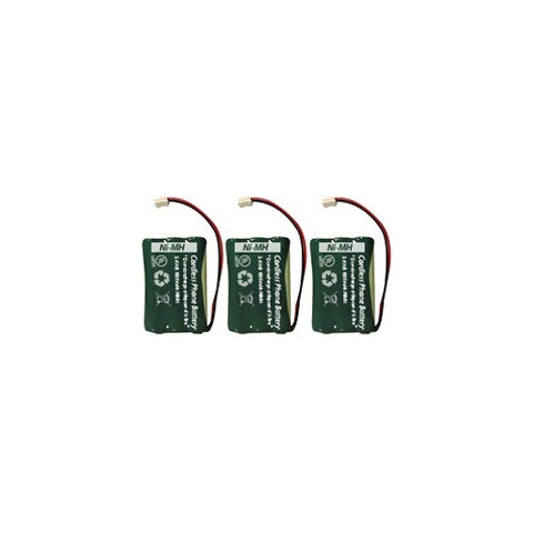 Replacement For AT&T 89-0099-00 Cordless Phone Battery (700mAh, 3.6V, NI-MH) - 3 Pack