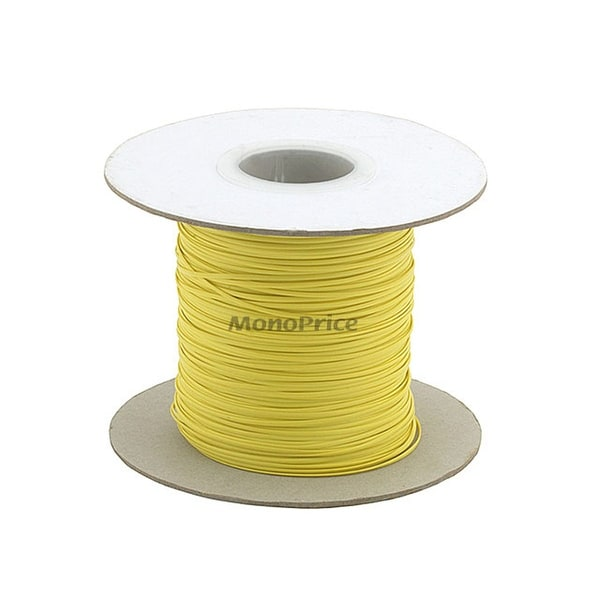 Monoprice Wire Cable Tie, 290 meters - Yellow