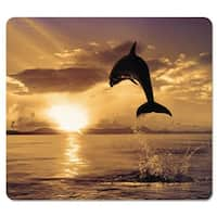 Fellowes Mousepad, Recycled Optical, Dolphin Jumping