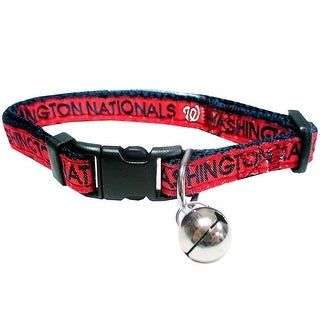 MLB Washington Nationals Cat Collar
