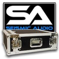 Seismic Audio 4 SPACE RACK CASE Amp Effect Mixer PA/DJ PRO Audio