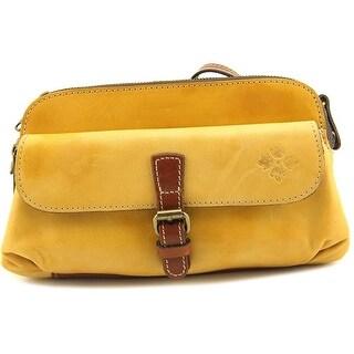 Patricia Nash Lamia Women Leather Messenger - Yellow