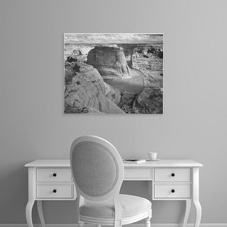 Easy Art Prints Ansel Adams's 'Canyon de Chelly' Premium Canvas Art