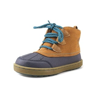 Osh Kosh Harrison Toddler Round Toe Canvas Blue Winter Boot