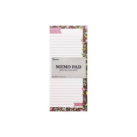 30041325 darice memo pad floral