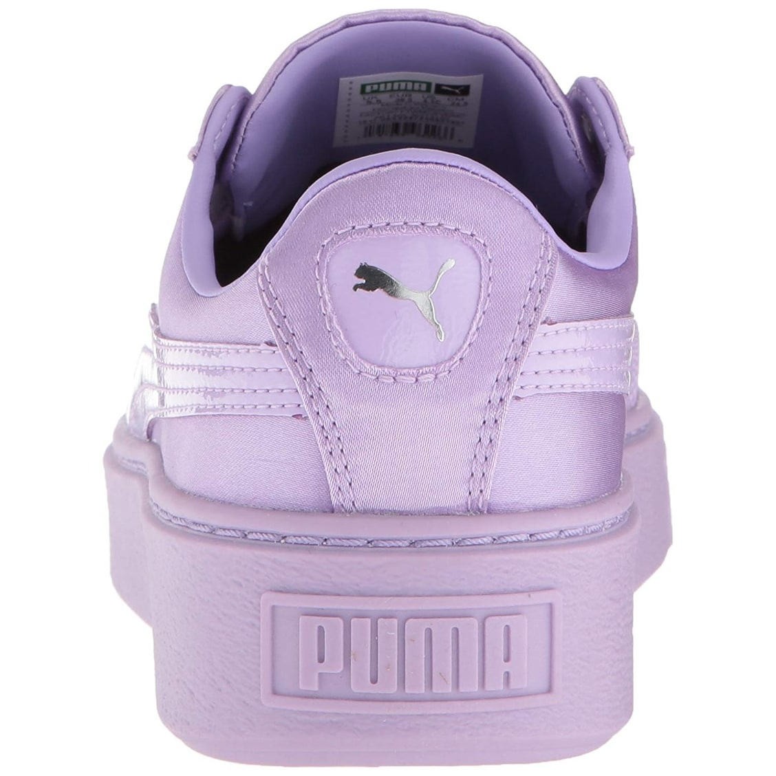 on sale f47fb 5abb2 PUMA Kids' Basket Platform Tween Sneaker