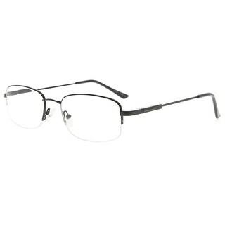 Eyekepper Bendable Titanium Memory Reading Glasses Half-Rim Readers