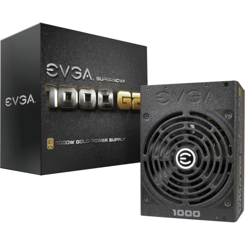 """EVGA Corporation 120-G2-1000-XR EVGA Supernova 1000 G2 1000W Power Supply - 110 V AC, 220 V AC Input Voltage - Internal -"
